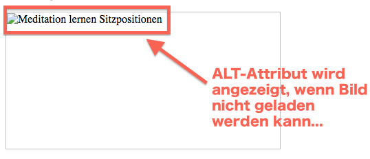 Alt Attribut Bild SEO