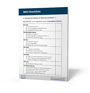 SEO checkliste download